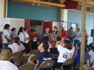 Ann Cass, of Proyecto Azteca