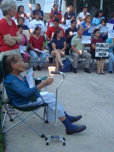 valley residents support the public option