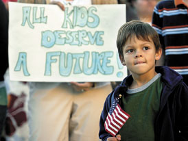 """All kids deserve a future"""