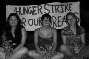 Students on hunger strike at UTSA